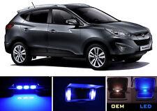 Ultra Blue Vanity / Sun visor LED light Bulbs for Hyundai Tucson (2 Pcs)