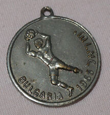 Medaille (Schlüsselanhänger) Israel - Bulgarien Quali 1965 zur Fussball-WM 1966