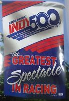 """2017 Indianapolis 500 101 Running Event Collector Vertical Flag 27"""" x 37"""""""