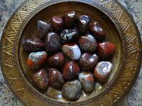 RHYOLITE 1//4 Lb Gemstone Specimens Tumbled Wiccan Pagan Metaphysical