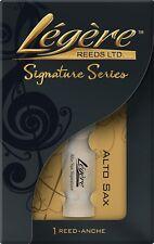 Legere Saxophone Reed Alto Eb (E - Flat) 3.00 Signature Cut