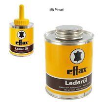 Effax Leder-Öl, Dose mit Pinsel 475ml Lederpflege NEU 1L= 20 EUR