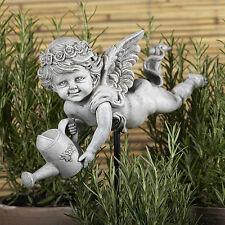 Gärtnerengel Putte Gartenfigur
