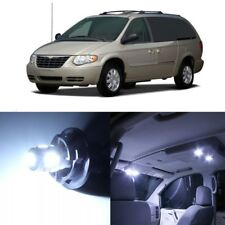 16 x White LED Interior Light Package For 2001 - 2007 Chrysler Town Country TOOL