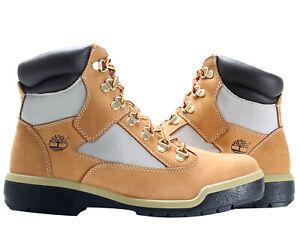 Timberland 6 Inch Waterproof Field Boot Wheat Nubuck Men's Boots 98520