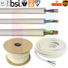 White Round Flexible Cable Multi Core 3182Y 3183Y 3184Y  0.5-2.5mm Wire