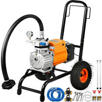 VEVOR Airless Paint Sprayer 5HP 5000PSI w/ 2 Spray Guns 2x500mm Wands 3000W