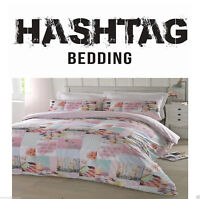 #Bedding Pretty Pastels Duvet Cover/Quilt Cover Set Bedding Multi Pink All Sizes