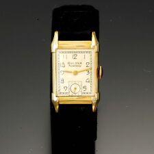 Bulova Excellency Model Watch   21 Jewel Yellow Gold-Filled Case CA1947