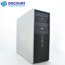 Hp Dc Desktop Pc Computer Tower Windows 10 Intel 1.8Ghz 4Gb 500Gb