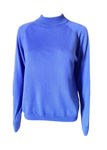 Slade-Crew Neck-Pure Wool-Knit Jumper in Lavender-Size 12
