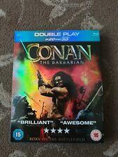CONAN THE BARBARIAN 2D / 3D BLURAY AND DVD JASON MOMOA
