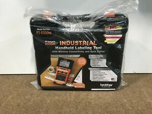 ⭐ SEALED Brother PT-E550W Industrial Handheld Labeling Tool ✅❤️️✅❤️️ NEW