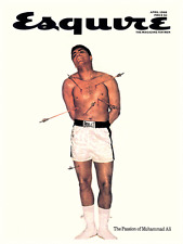 Muhammad Ali  *POSTER*  Esquire Magazine COVER Print - FIGHTER & BOXING LEGEND