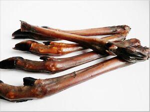 Large Dried Roe Leg Hoove Grade A - better than chicken feet 100% NATURAL