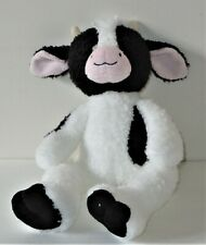 AURORA Black and White Cow 10 Inches Stuffed Animal Toy