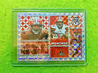 NICK CHUBB SILVER PRIZM CARD JERSEY #24 CLEVELAND BROWNS SP 2020 Mosaic  MONTAGE