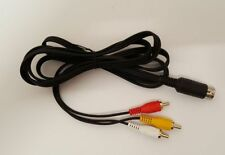 Commodore 64 128 Composite Video Cable with Audio for C64, C128, Plus/4