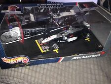 McLaren MP4/13 Mika Hakkinen 1998 world champion 1:24 Hot Wheels F1 model 1/24