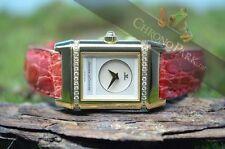 Mechanische Armbanduhren (Handaufzug) mit Armband aus echtem Leder für Damen