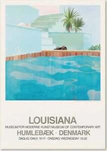 David Hockney, Original, Exhibition, Louisiana, Museum, Giclée, Poster