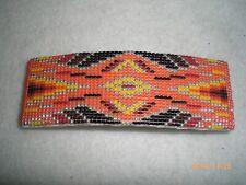 Beaded Native American Barrette, Navajo                                     #434