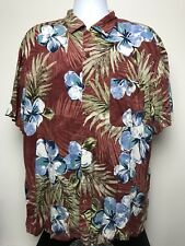 Men's Size XXL Shirt Island Shores Short Sleeve Hawaiian Beach Style Cruise (C3)
