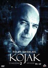 KOJAK - STAGIONE 02 #01  3 DVD  COFANETTO  SERIE-TV