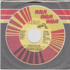 RCA JAMES WALSH GYPSY BAND Cuz it's you girl / Same Demo - stereo / mono