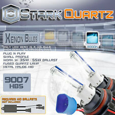 35W / 55W Xenon HID Bulbs High/Low Beam Head Light - 9007 Replacement Pair 8000K