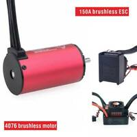 Waterproof For 1:8  RC car E-Revo E-Maxx UDR 6S 150A ESC Brushless 2000KV Motor