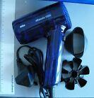 SECADOR DE PELO BRAUN SILENCIO PX 1200 -220V / 1200W- Color Azul Transparente