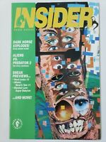 DARK HORSE INSIDER COMICS MAGAZINE #4 April 1992 CAMBELL & KEVIN O'NEIL COVERS!