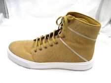 Mens Supra Camino Yellow Skate Tennis Shoes Hightops sz 12M sneakers 08098-722-M