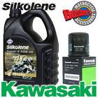 ZR1100 Zephyr 92-97 Genuine 16099-003 Kawasaki Oil Filter & Silkolene Super4