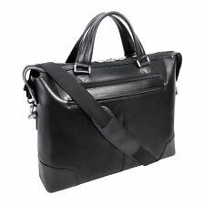 McKlein Slim Laptop Briefcase New