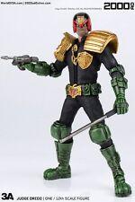 ThreeA 2000AD Judge Dredd 1/12 Scale, 6 Inch Collectible Action Figure New