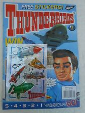 Redan Thunderbirds Comic issue 1 (WITH GIFT) NO #1 (MINT CONDITION) 2001 RARE