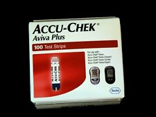 ACCU-CHEK AVIVA PLUS Test Strips  Brand New in Factory Sealed Box