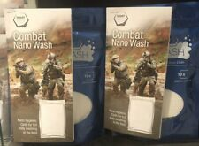 Combat Nano Wash - A nano hygienic cloth for full body wash in the field.