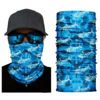 UV SUN PROTECTION FACE MASK,NECK SCARF,Fishing Boating,Fly Headwear Gaiter BLUE