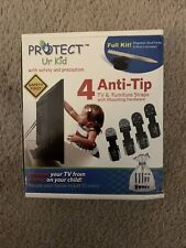 Tv & Furniture Anti tip Safety Anchor Straps, Earthquake Safe, Child & Baby New