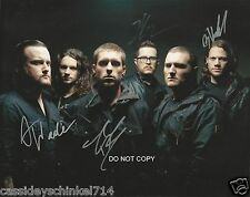 "Whitechapel Metal band Reprint Signed 8x10"" Photo RP ALL 6 Members"