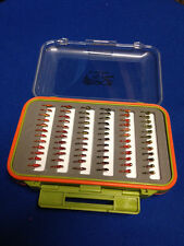 72 Epoxy Buzzers In Fly Box - Trout Flies - Fly Fishing Flies