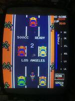ZIPPY RACE AKA TRAVERSE USA BY IREM ARCADE PCB  JAMMA BOOTLEG WITH JAMMA ADAPTOR