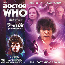 DOCTOR WHO Big Finish Audio CD Tom Baker 4th Doctor #5.6 THE TROUBLE WITH DRAX