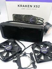 NZXT Kraken X52 240mm - RL-KRX52-02 - AIO RGB CPU Liquid Cooler - CAM-Powered