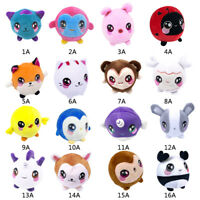 "Squishamals 3.5"" Super-Squishy Foamed Stuffed Plush Animal Kids Toy Xmas Gift US"
