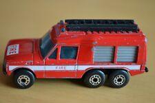 Matchbox Superfast No 57 Red Carmichael Commando Fire Vehicle