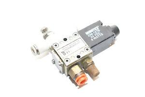 Numatics L01SA4594000061 4-Way 24VDC 6W Solenoid - 150psig-air max